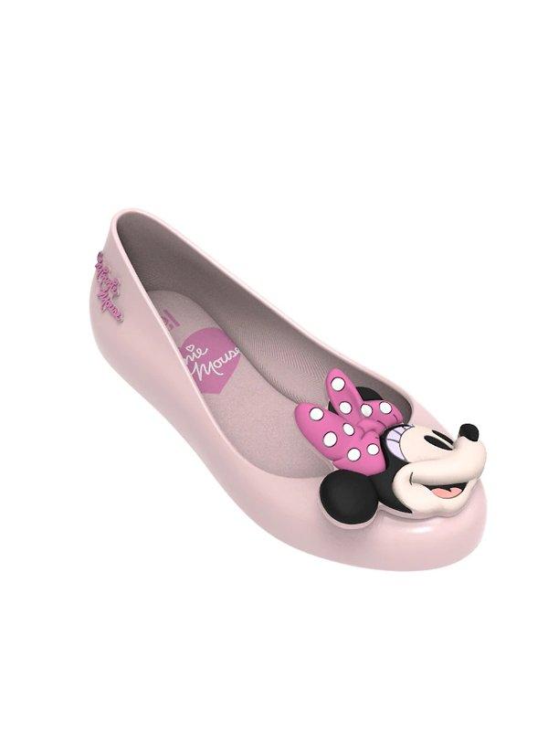 米妮图案 女童平底鞋
