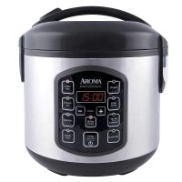 Aroma 8杯容量数显电饭煲,8种预设功能