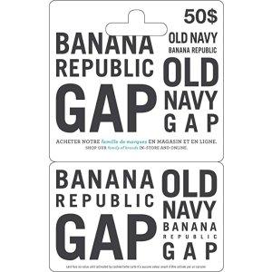 Gap 礼品卡
