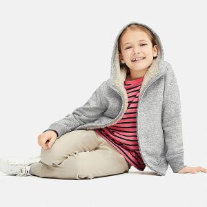 低至$1.9 封面保暖外套降至$14.9上新:优衣库官网儿童特价区清仓