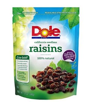$5.23Dole California Seedless Raisins 12 Ounce