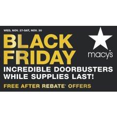 2019黑色星期五 Macy's黑五海报全攻略 | $0捡白菜!全场精选满$25减10、满$50减$20