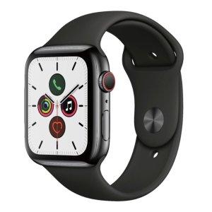 Apple Watch Series 5 (GPS + Cellular) 44mm Space Black