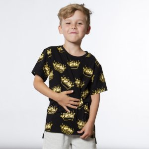 男童印花短袖
