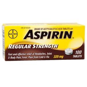 8.2折起 拜耳制药满$40减$10Aspirin 阿司匹林 止痛解热常备消炎药