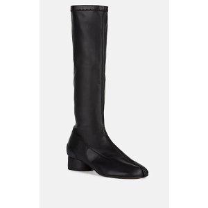 Tabi Leather 及膝靴