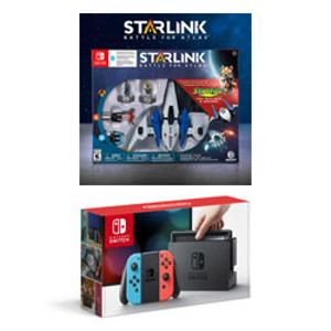 Nintendo Switch Console + Starlink: Battle for Atlas Starter Pack