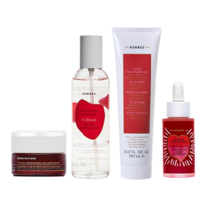 Dealmoon Exclusive!Wild Rose Daily Glow Routine ($176 value) for $135 @ Korres