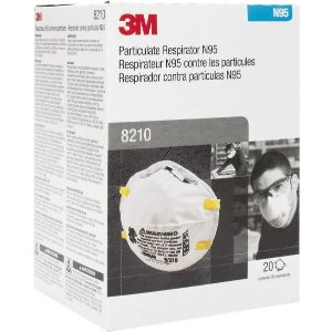3M- N95, Size Universal, Particulate Respirator - 00324574 - MSC Industrial Supply