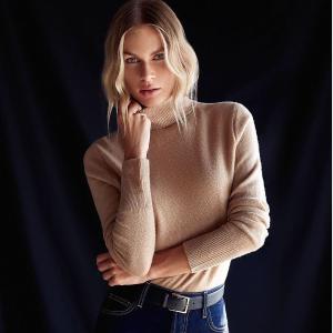 低至$70 $59收百搭打底衣Gilt 精选羊绒系列单品热卖,冬季暖心必备