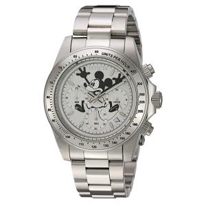 $137.24(原价$672.42)Invicta  男士石英防水不锈钢手表 迪士尼合作限量款