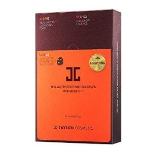 JAYJUNReal Water Brightening Black Mask 25ml / 0.84 fl.oz. Pack of 10