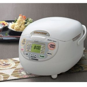 $229.99Zojirushi NS-ZCC10 5.5杯微电脑白色电饭煲