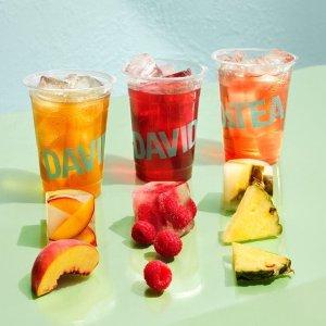 全场额外9折+送好礼Davids Tea清爽冰茶来袭 清新冰爽一夏天 今天你是什么水果女孩