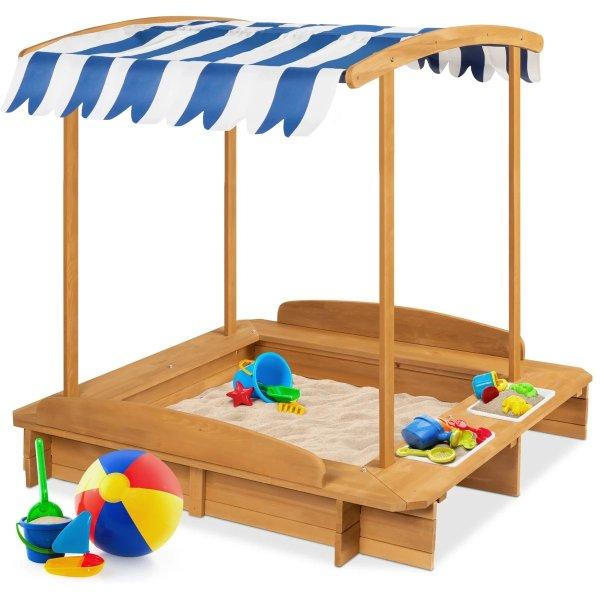 木质玩沙台及配件