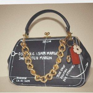 Parker 18手袋$375Coach Vintage 优雅重现 玩转复古元素 收浪漫山茶花