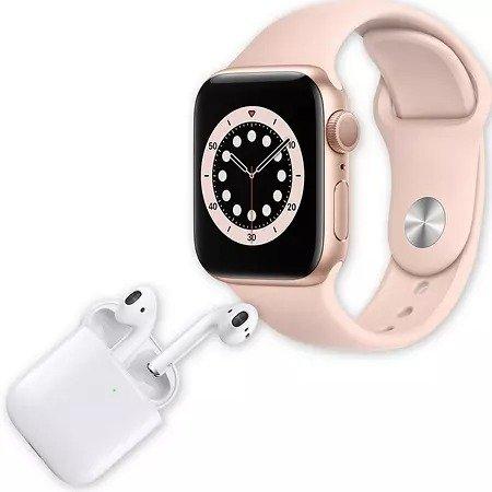 苹果智能手表6+耳机组合
