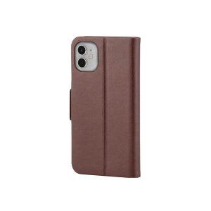 Monoprice棕色iPhone 11 皮革翻盖式保护壳