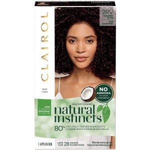 $6.99(原价$8.56)史低价:Clairol 染发剂 含椰子油和芦荟 保护发质不伤头发