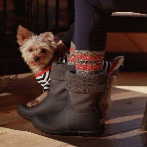 低至5折Hunter 圣诞季雨靴热卖 颜色超多还防水 雨天必备