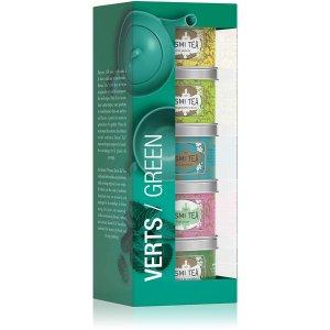 5罐装仅€21.9 合€4.38/罐Kusmi Tea 罐装茶 法国人气美容养颜茶 带有花香味的绿茶