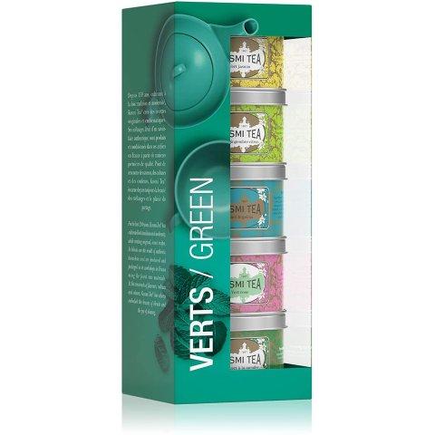 5罐装仅€16.43 合€3.29/罐Kusmi Tea 罐装茶 法国人气美容养颜茶 带有花香味的绿茶