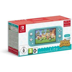 动森限定版!Nintendo Switch Lite游戏机 +3个月的会员