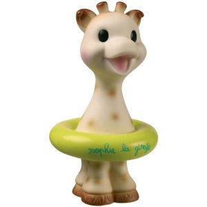 Sophie La Girafe洗澡玩具