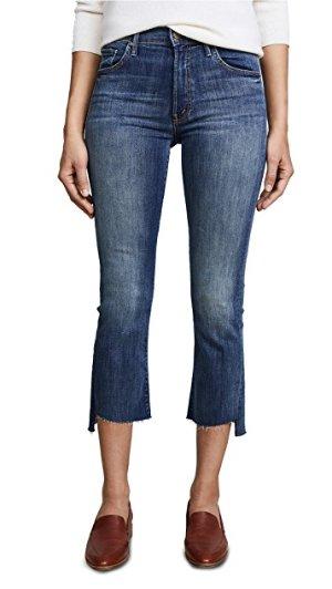 MOTHER The Insider Crop Step Fray Jeans | SHOPBOP