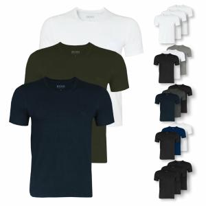 平均每件只要10欧BOSS Herren 男士纯棉T恤,三件装,低至31.94欧
