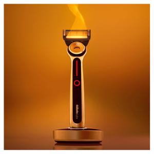 Gillette 自加热不锈钢剃须刀 Heated Razor 直降£50