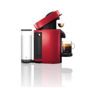 VertuoPlus 樱桃红色 胶囊咖啡机