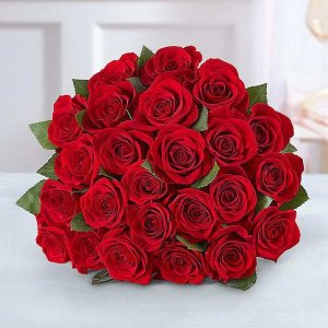 $29.99红玫瑰 买12支送12支