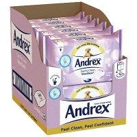 andrex 可冲水卫生纸巾(无香型12包装)