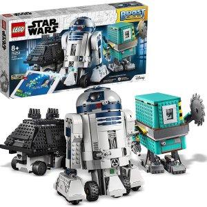 8.1折 €158.41(原价€194.95)LEGO 乐高 星球大战系列 机器人指挥官组合 TOTY获奖产品