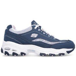$33.75(原价$54.99)Skechers D-Lites 女士熊猫鞋休闲鞋