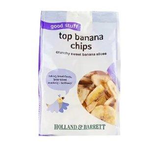 Holland & Barrett第2件半价!香蕉片