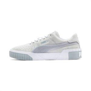 Puma白灰色cali运动鞋