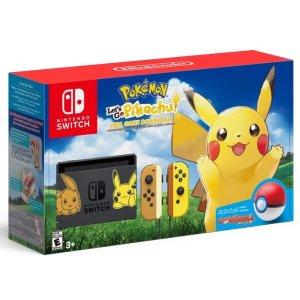 $399 再送$25Target礼卡Nintendo Switch 《去吧 皮卡丘》限定版套装