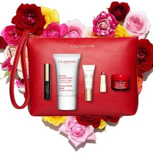 Bouquet of Beauty With any $100 order @ Clarins