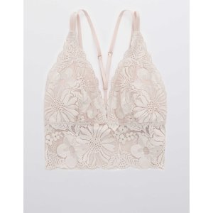 AEOAerie Garden Party Lace Strappy Padded Bralette