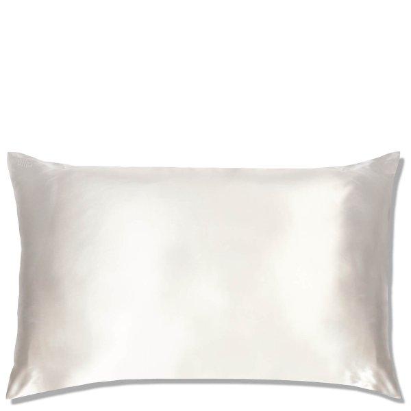 白色真丝枕头