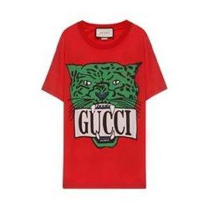 Gucci虎头T恤