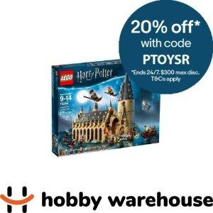 LegoHarry Potter Hogwarts Great Hall