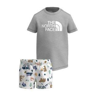 6折The North Face 儿童户外运动服饰特卖 新增多款外套