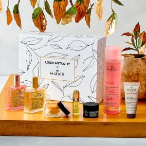 $69(价值$160+)Nuxe 欧树限定护肤礼盒 收爆款万能油、玫瑰卸妆水正装