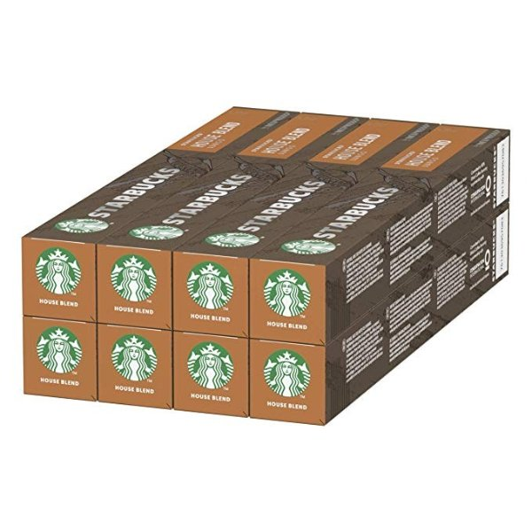 胶囊咖啡 中度烘培 8条80颗
