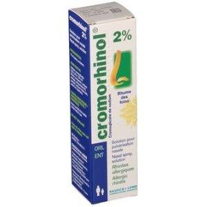 每天4-6次 Cromorhinol® 2 % 洗鼻器 15 ml