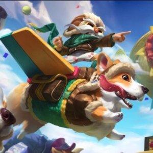 柯基 VS 狮子喵【3/6】《英雄联盟》激萌皮肤来袭 愚人节的猫狗大战