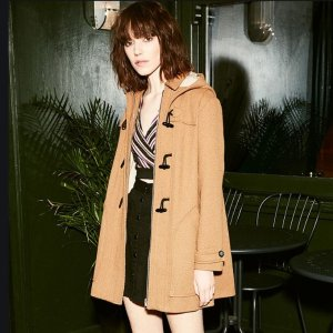 折扣区2.5折起 泰迪熊大衣€49Urban Outfitters 大衣外套大促 泰迪熊、修身夹克都在线